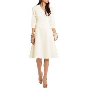 Jil Sander NWT Ivory Crepe Dress